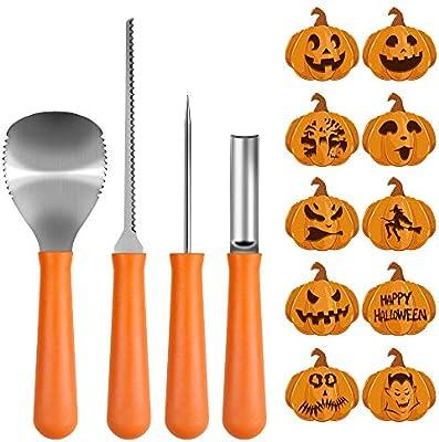 Amazon Com Pumpkin Carving Kit Big House Professional Halloween