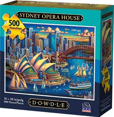 Dowdle Jigsaw Puzzle - Sydney Opera House - 500 Piece