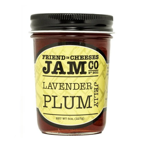(Friend in Cheeses Jam - Lavender Plum Jelly (8 ounce))