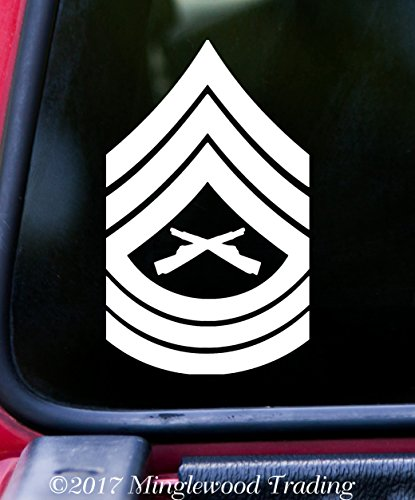 Minglewood Trading USMC E-8 Master Sergeant Insignia 5