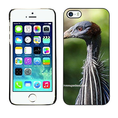 Premio Sottile Slim Cassa Custodia Case Cover Shell // F00014406 pintade // Apple iPhone 5 5S 5G