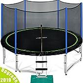 Image result for bark yard trampoline