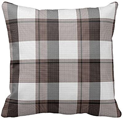 Amazon Com Rustic Black And White Buffalo Check Plaid