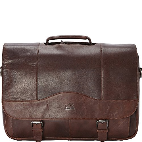 Mancini Leather Goods Porthole 15.6