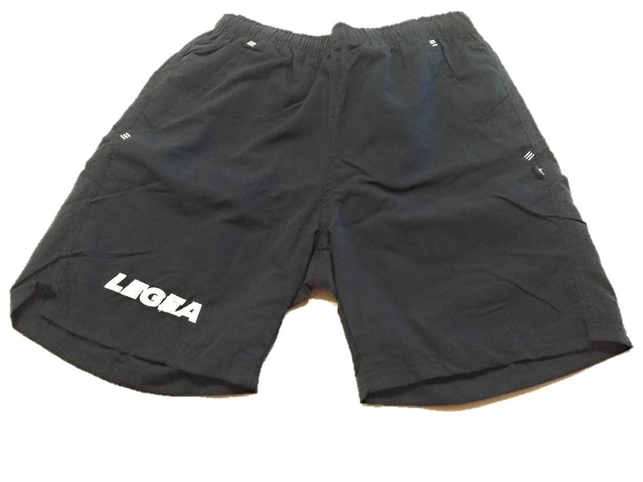 Legea Olimpia–Bermudas para Hombre Pantalones Cortos De Fútbol Entrenamiento Deportivo KITB1000