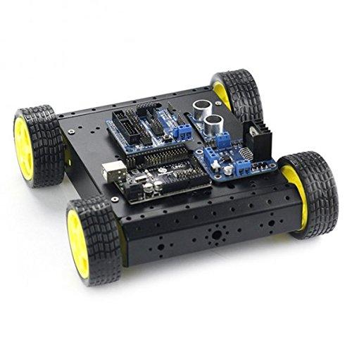 Sainsmart Mobile Car Kit With Sensor Shield V5 4wd