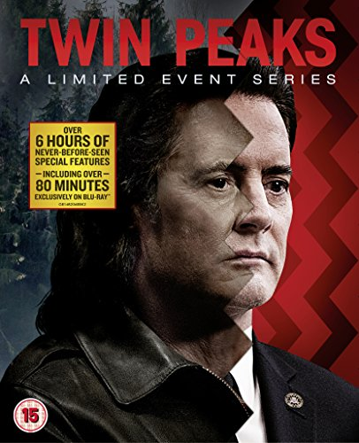 Twin Peaks  A Limited Event Series  Slipcase Version   Blu Ray   2017