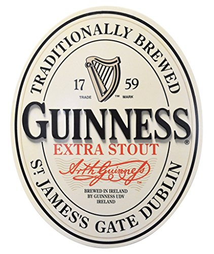 Guinness Traditional St James Gate Dublin Ireland Label Wall Art -