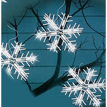 Ge 150 Light Clear Random Sparkle Snowflake Icicle Light