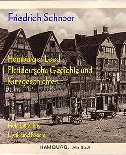 Amazoncom Hamburger Leed Plattdeutsche Gedichte Und