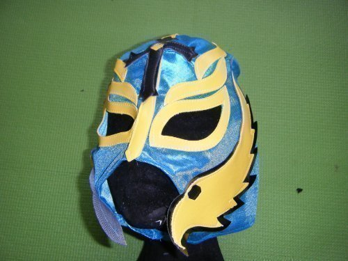 Rey Mysterio Suit (SOPHZZZZ TOY SHOP Rey Mysterio Colour Will Vary Childrens Mask)