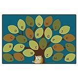 Carpets for Kids 20724 Owl-phabet Rug