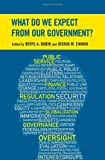 img - for What Do We Expect from Our Government? book / textbook / text book