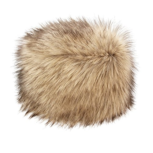 6669e40fcf8 Futrzane Women s Russian Cossack Faux Fur Hat for Winter (M ...