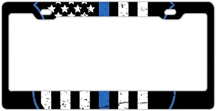 FREEDOM IS NOT FREE Chrome Heavy Duty Metal License Plate Frame Tag