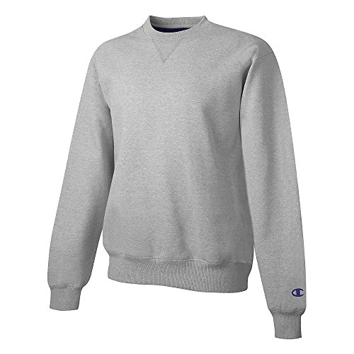 Champion Men's Max Crewneck Sweatshirt_Light Steel_2XL