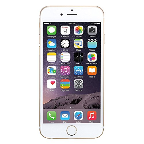 Apple iPhone 6 128GB Factory Unlocked GSM Smartphone w/ 8MP Camera – Gold (Certified Refurbished)