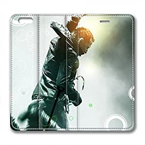 iCustomonline Linkin Park Personalized Leather Case for iPhone 6 Plus(for 5.5 inch)