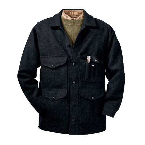Mackinaw Cruiser Jacket (Filson Mackinaw Cruiser - Charcoal 48)