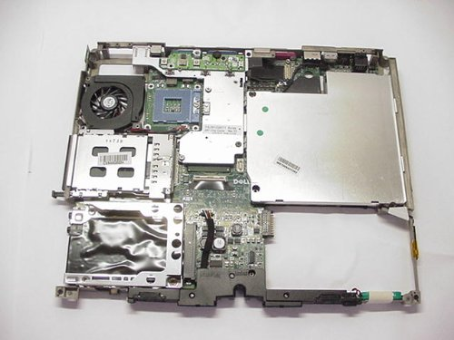 (Genuine DELL Laptop Motherboard with Frame For Latitude D600 and Inspiron 600M Systems Part Number: W8212 )