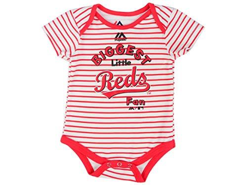 Majestic Athletic Cincinnati Reds Infant Size 0-3 Months Onesie Bodysuit Creeper - ()