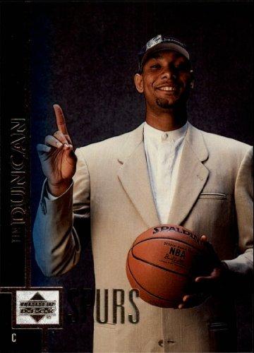 1997 Upper Deck Basketball Rookie Card (1997-98) #114 Tim Duncan Mint