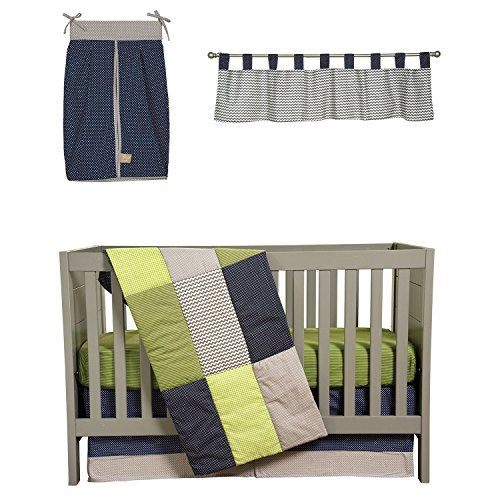 Trend Lab Crib Bedding 5 pc. - Perfectly Preppy (2 pack)