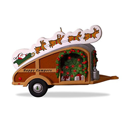 Hallmark Keepsake Christmas Ornament 2018 Year Dated, Happy Campers (Best Christmas Gifts For Campers)