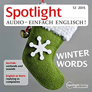 Spotlight Audio - Winter words. 12/2015 Hörbuch