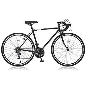 Grandir(グランディール) 700Cロードバイク シマノ21段変速 フレームサイズ520 Grandir Sensitive ブラック