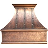Copper Best H7 302127L Copper Range Hood Installs Easily Wall Mount 30 inch