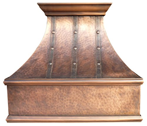 Sinda H7LTR Copper Range Hood with Profession Liner & Internal Motor 30