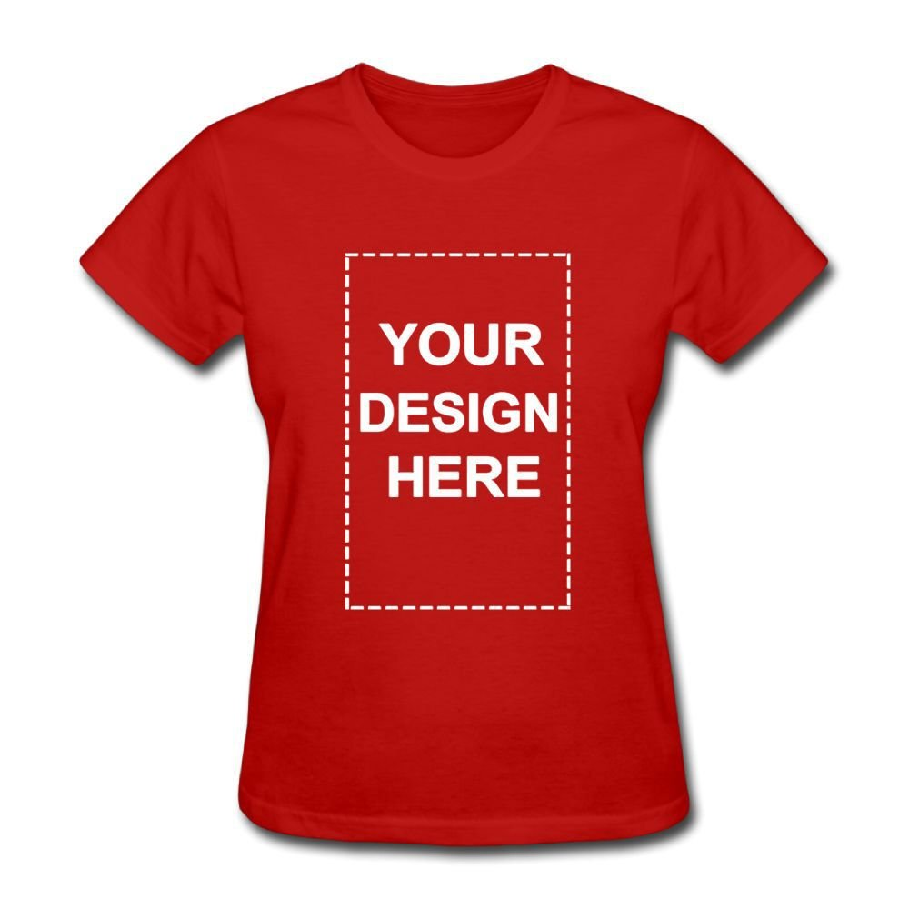 e274151823a0 Amazon.com: Custom Personalized Women Shirts Add Your Own Text Image Printed  T-Shirt: Clothing