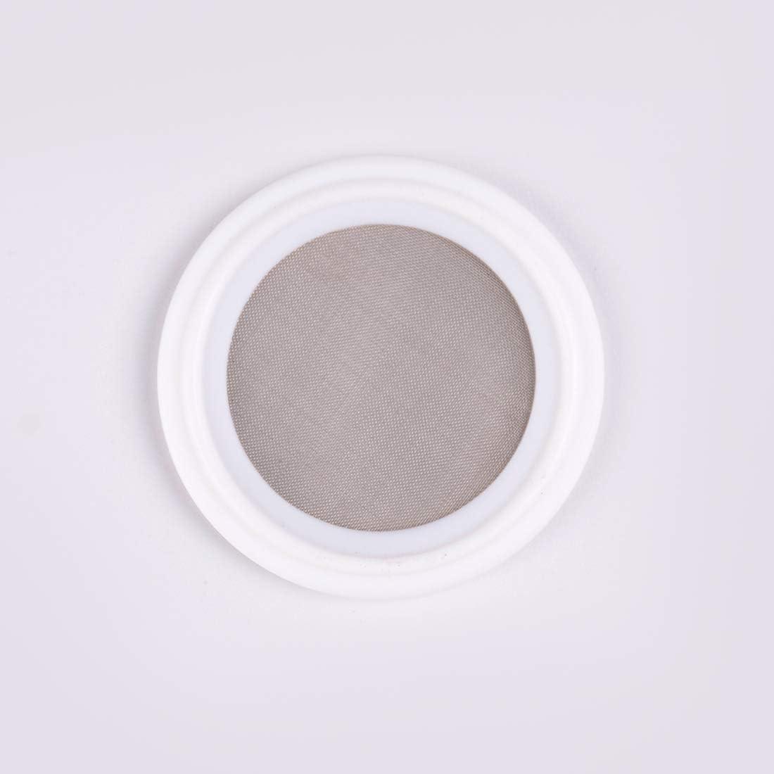 1.5 50 Mesh PTFE Sanitary Tri-Clamp Screen Gasket 318 Micron Mesh Gasket