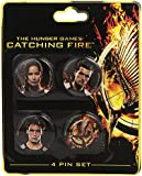 NECA The Hunger Games: Catching Fire Victors Pin Set (4-Piece)