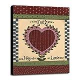 Love III Framed Print 45.00''x33.50'' by Debbie McMaster