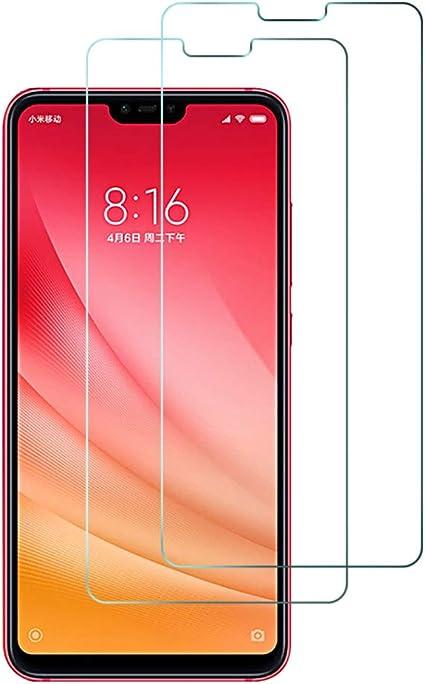 2Pack, Compatible con Xiaomi Mi 8 Lite Cristal Templado, Pantalla ...
