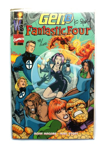 Signed Tpb - Gen 13 / Fantastic Four TPB (Dynamic Forces Signed Limited Edition)