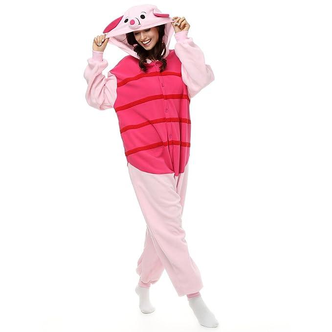 Cosplay - Pijama de una pieza - para mujer Rojo Rojos