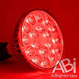 ABI 25W Deep Red 660nm LED Light Bulb Bloom Booster
