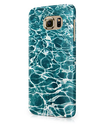 Summer Vibes Ocean Swiming Pool Water Plastic Snap-On Case Cover Shell For Samsung Galaxy S6