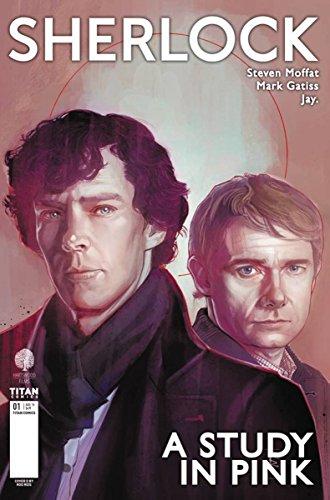 Sherlock A Study in Pink #1 (of 6) CVR D