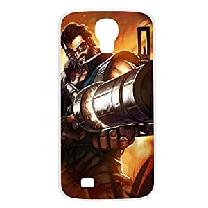 Graves-001 League of Legends LoL Samsung Galxy S4 I9500/I9502 Plastic White