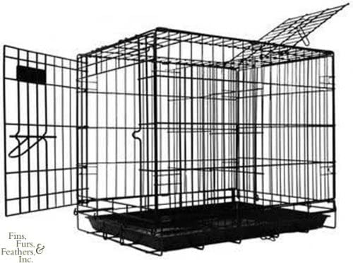 Pet Tek DPK86001 Dream Crate Professional Series 100 Dog Crate, 19 by 12 by 15-Inch, Black