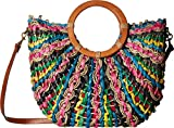Patricia Nash Women's Straw Lesa Tote Bright Multi One Size