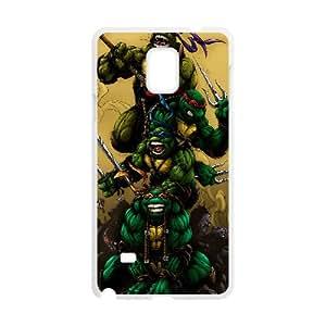 Teenage Mutant Ninja Turtles Cartoon Samsung Galaxy Note 4 Cell Phone Case White WON6189218026416