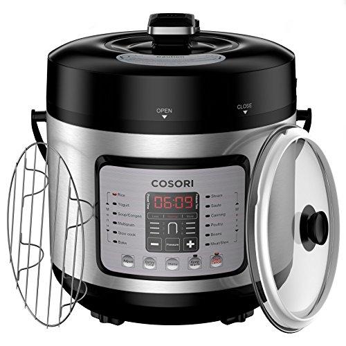 COSORI Electric Pressure Cooker 7-in-1 Multi-Fu...