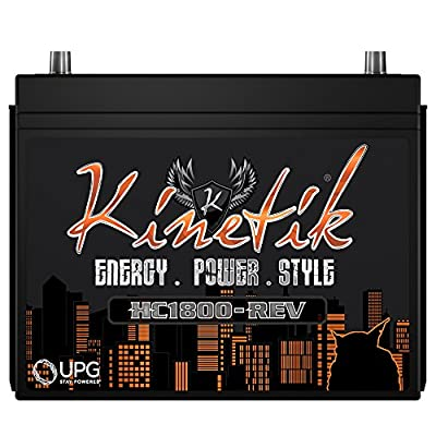 Kinetik KHC1800 Power Cell Car Audio Battery System, High Current, 1800w HC1800
