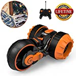RC Stunt Car, Radio Control Racing Stunt Car Six Channel Double Sided Degree Spins Rolling Flip the Stunt Actions Cool Styling 360