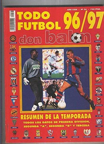 Don Balon extra numero 36: liga 96/97: Amazon.es: Varios: Libros